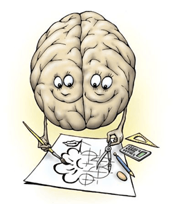 Упражнение чтобы развивать полушария мозга