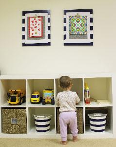 фото души в комнате ребенка