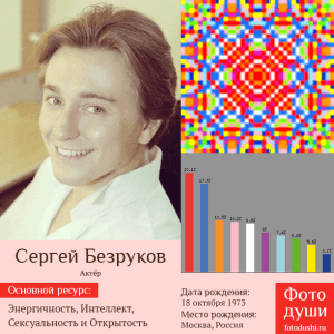 Коллаж с фото души Сергей Безруков