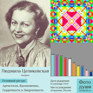 Коллаж с фото души Людмила Целиковская