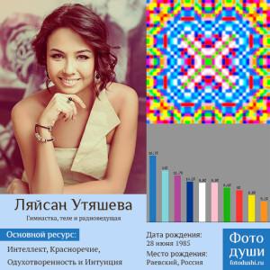 Коллаж с фото души Ляйсан Утяшева