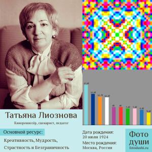 Коллаж с фото души Татьяна Лиознова